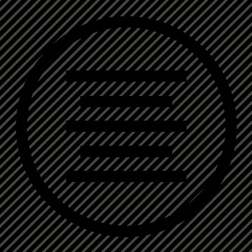 align, align center, center, font, paragraph icon