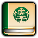 diary, starbucks icon