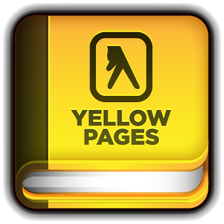 pages, yellow icon