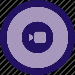 camera, creative, film, movie, multimedia, video icon