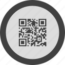 code, internet, label, qr, qr code, seo, tag icon