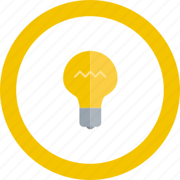 brainstorming, creative, idea, lightbulb icon