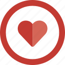 bookmark, favorite, healthcare, heart, like, love icon