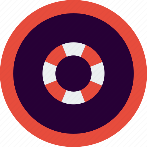 life saver, service, support, tool icon