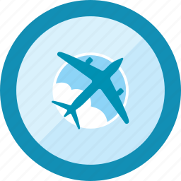 airplane, flight, fly, transportation, travel, vacation, vehicle icon