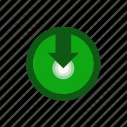 arrow, download, torrent, upload icon