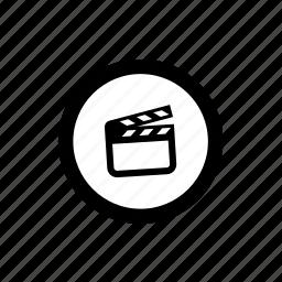 cinema, film, final cut, mov, movie editing, nle, video icon