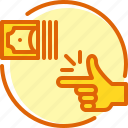 business, easy, payment, roundify icon