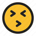 emoji, emoticon, expression, face, kissing