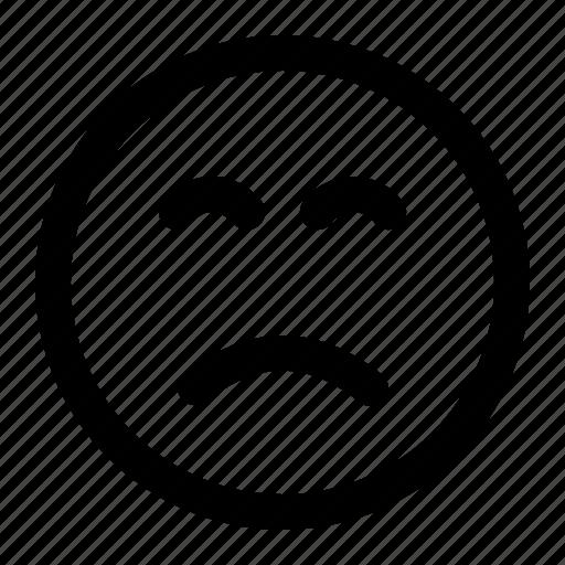 delicious, emoji, emoticon, expression, face, not icon