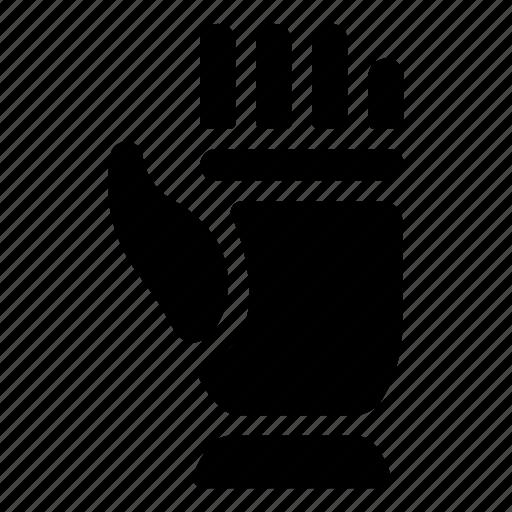 armor, costume, equipment, glove, hand, knight, warrior icon
