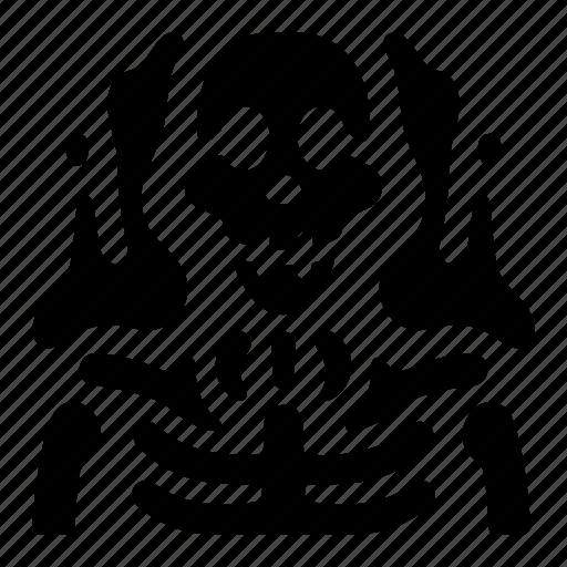 game, rise, skeleton, skill, ui, wake icon