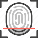 internet of things, iot, technology, finger print, identity, scan, security