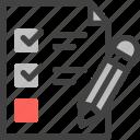 planning, strategy, business, checklist, list, document, pencil