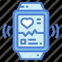 app, electronics, smartwatch, technology