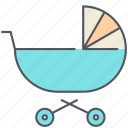 baby, craddle, crip, family, infant, newborn, toddler icon