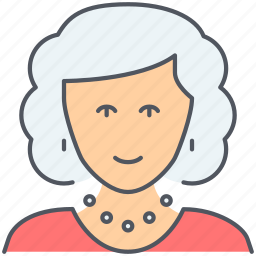 family, female, grandmother, granny, mother, person, woman icon
