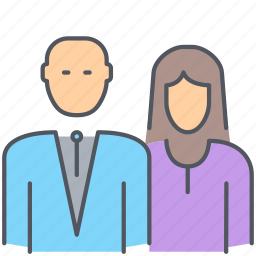 family, father, mother, parents, people, union, users icon