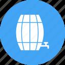 barrel, barrels, empty, farm, food, wheat, wooden