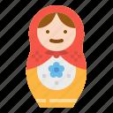 doll, matryoshka, mother, russia, russian icon