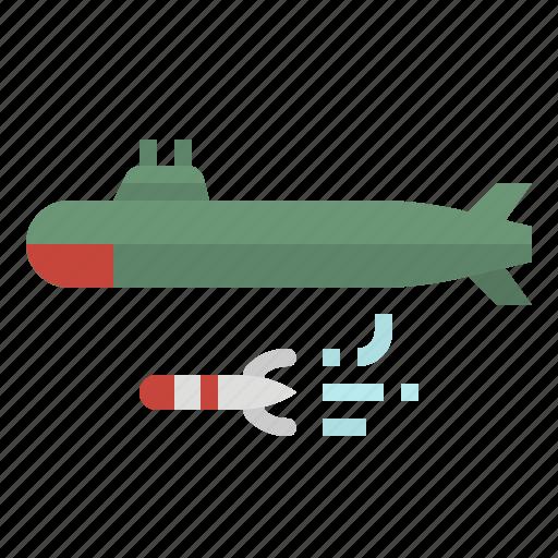 boat, sea, ship, submarine, transportation icon