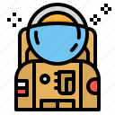 astronaut, avatar, man, profile, russia icon