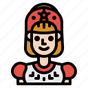 avatar, girl, people, russian, woman icon