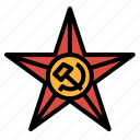red, shape, sign, star, symbols icon