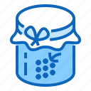 berry, jam, raspberry icon