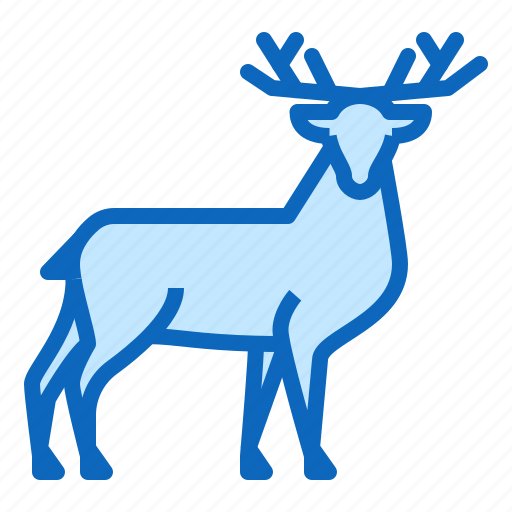 animal, deer, doe, forest icon