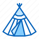 plague, siberia, traditional, wigwam icon