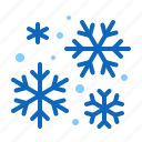 flakes, snow, snowfall, snowflakes, winter icon