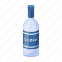 alcohol, bottle, drink, national, russian, vodka icon