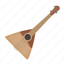 string, instrument, musical, national, balalaika, russian
