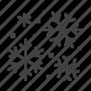 flakes, snow, snowfall, snowflakes, winter