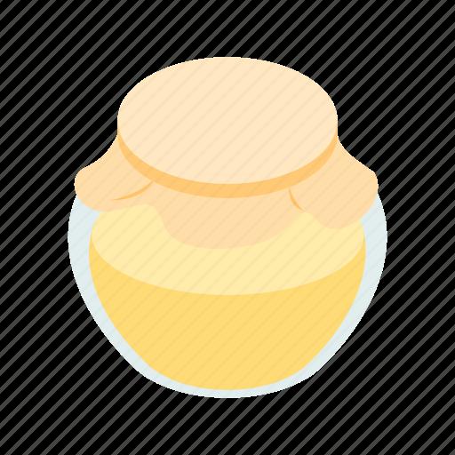 bank, food, honey, honeycomb, isometric, sweet, yellow icon