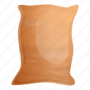 bag, full, grain, grunge, sack, vintage icon