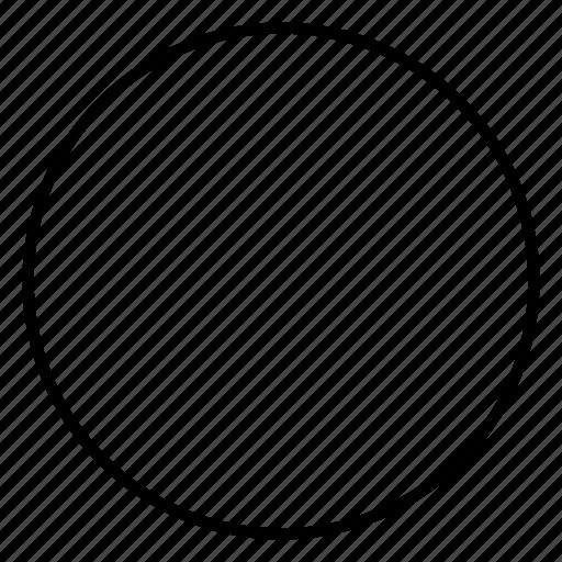circle, geometry, sacred, unity icon