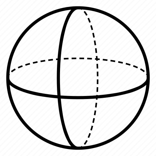 geometry, sacred, sphere, void icon