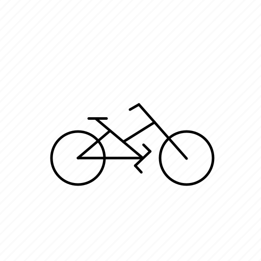bike, biycle, light, ride, road icon