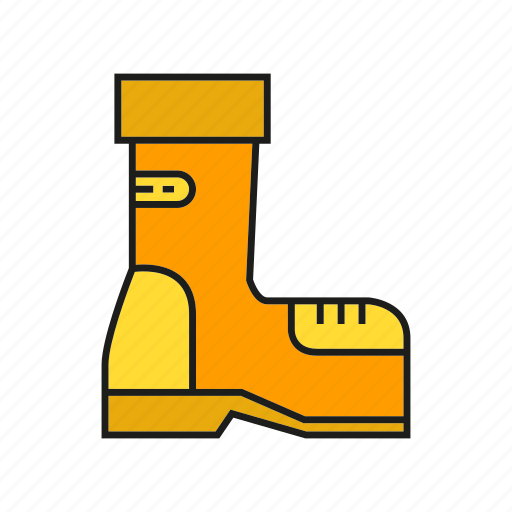 boot, industry, protection, safety boot, safety equipment, shoe icon