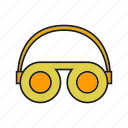 eyewear, glasses, goggle, industry, mask, protection, safety equipment icon