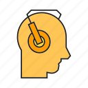 earmuffs, headphone, hearing, industry, muffs, protection, safety equipment icon