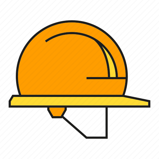 hard hat, head, helmet, industry, protection, safety equipment, welding icon