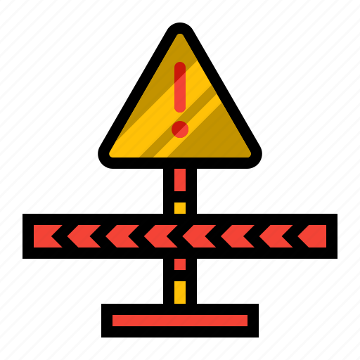 board, caution, notice, safety, sign icon