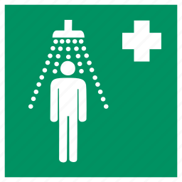 antivirus, clean, safety, secure, security, shield, shower icon