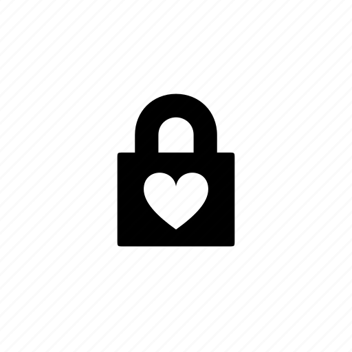 lock, love, safety, security icon