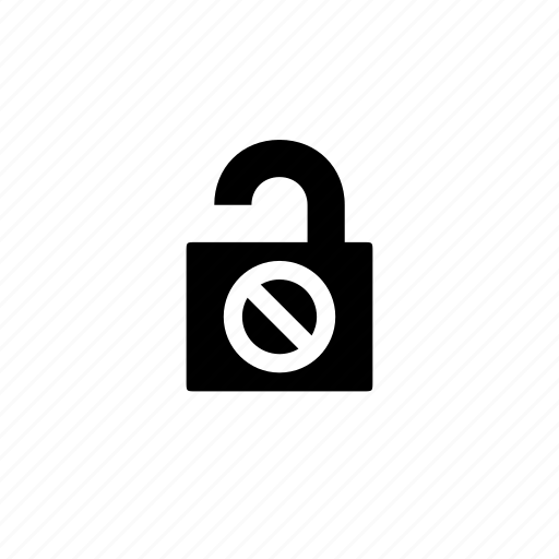 dont, lock, safety, security icon