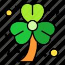 shamrock, clover, leaf, luck, patrick