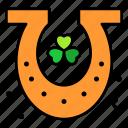 horseshoe, culture, clover, horse, lucky